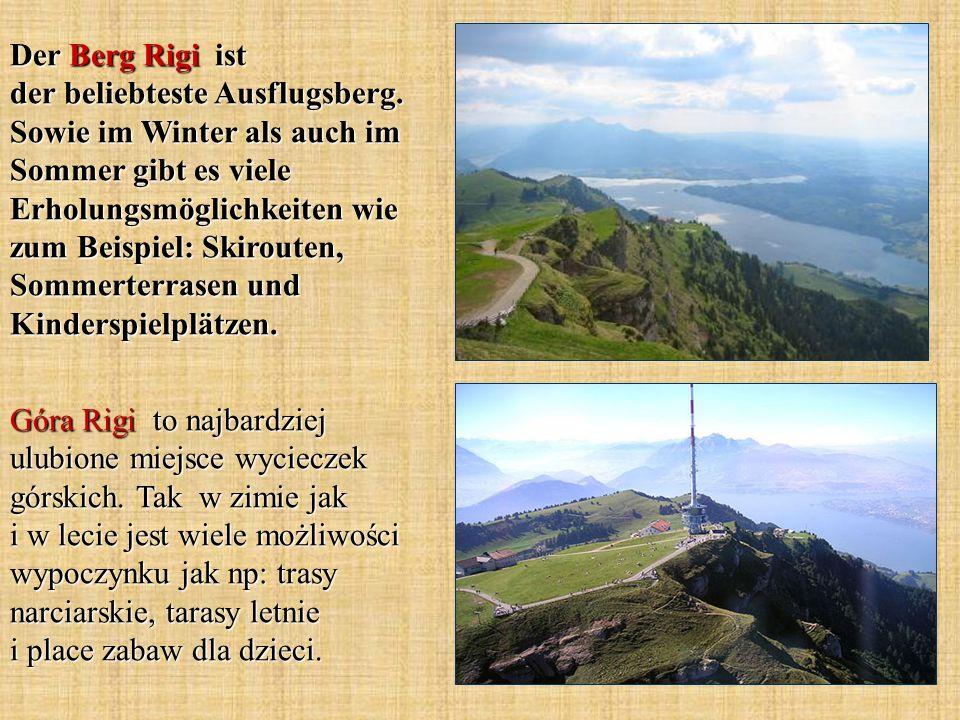 Der Berg Rigi ist der beliebteste Ausflugsberg