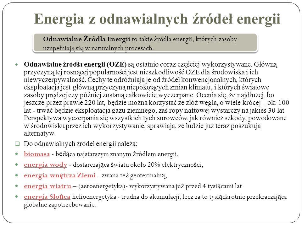 Energia z odnawialnych źródeł energii
