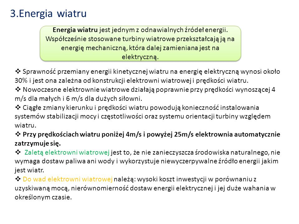3.Energia wiatru