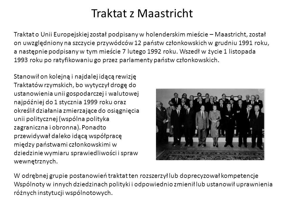 Traktat z Maastricht