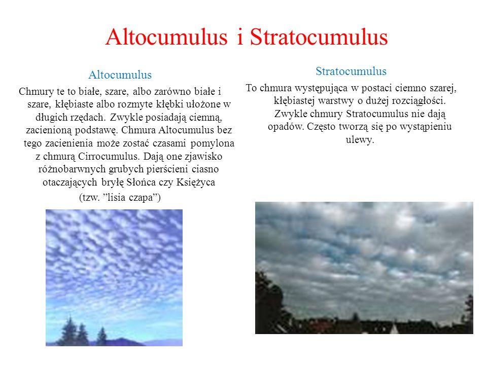Altocumulus i Stratocumulus