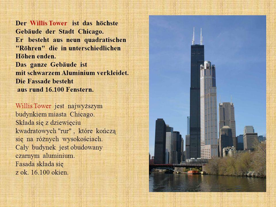 Der Willis Tower ist das höchste Gebäude der Stadt Chicago