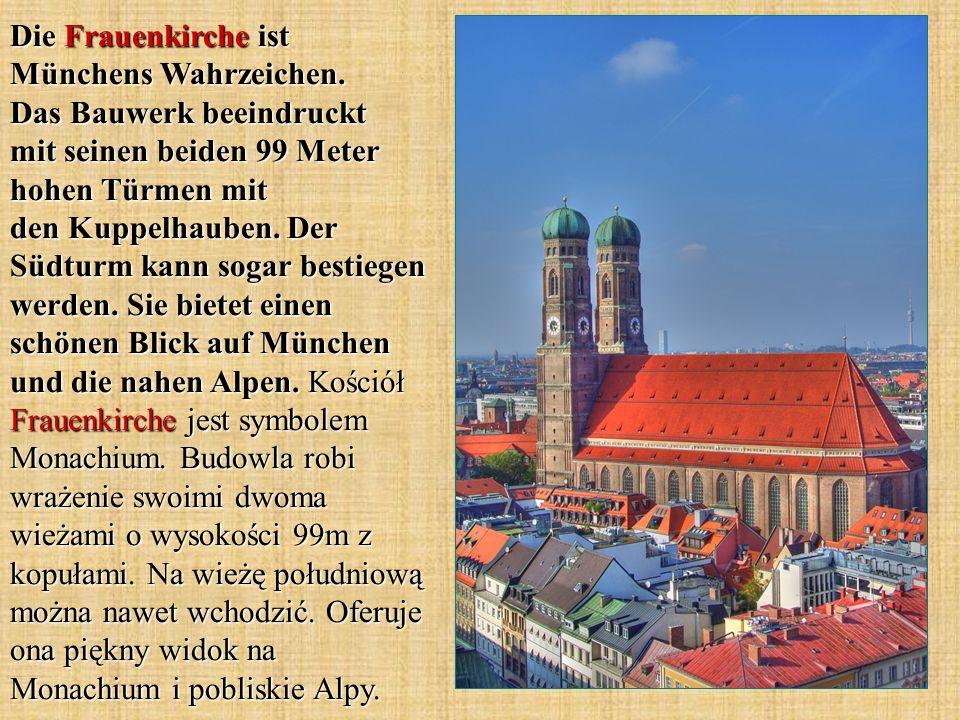 Die Frauenkirche ist Münchens Wahrzeichen