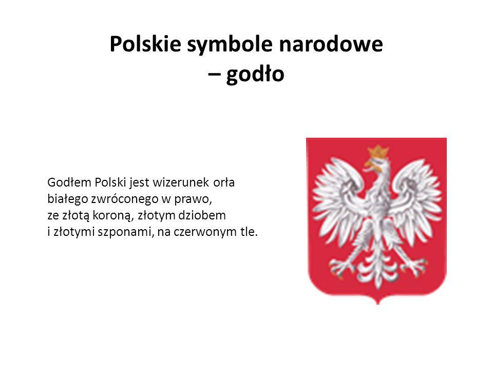 Polskie symbole narodowe – godło