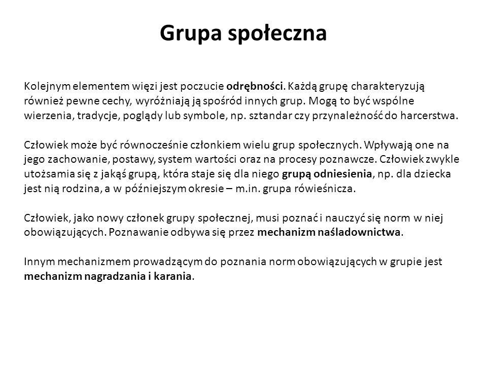 Grupa społeczna