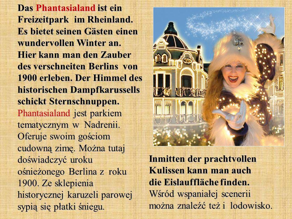 Das Phantasialand ist ein Freizeitpark im Rheinland