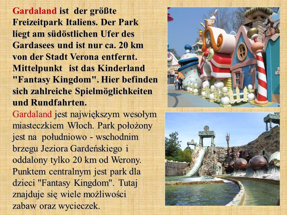 Gardaland ist der größte Freizeitpark Italiens