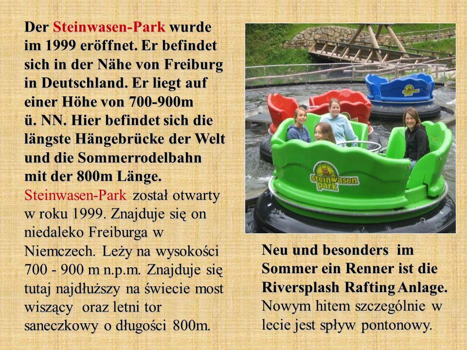 Der Steinwasen-Park wurde im 1999 eröffnet