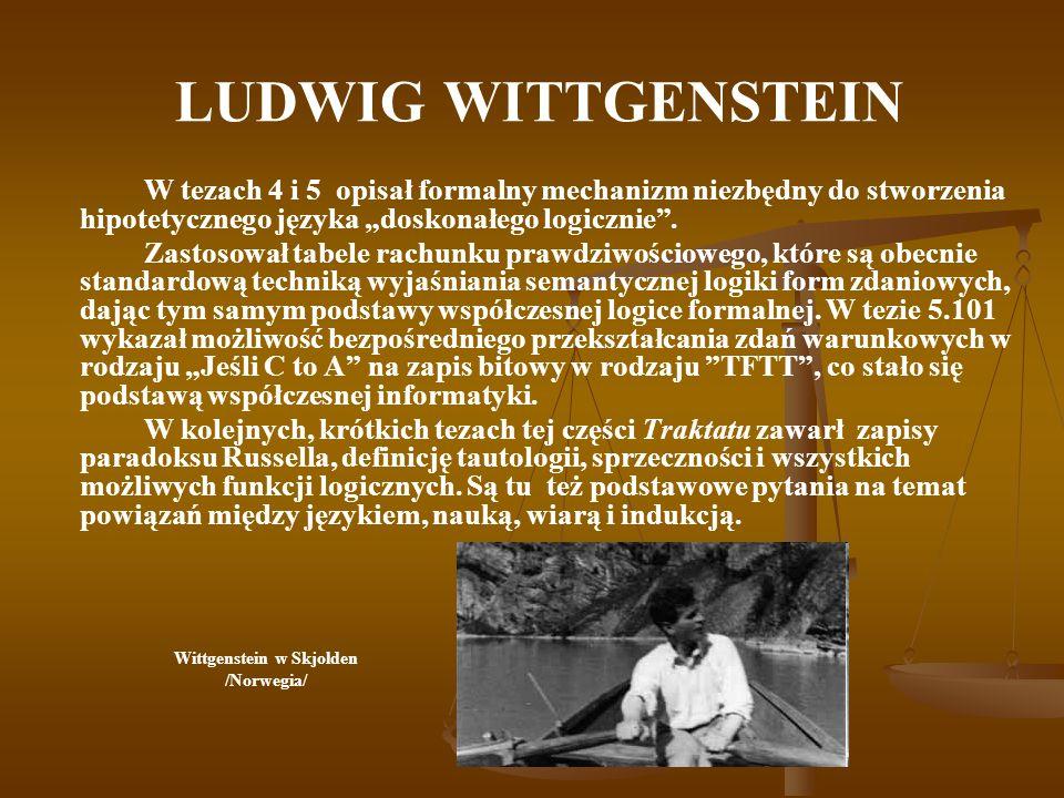 Wittgenstein w Skjolden