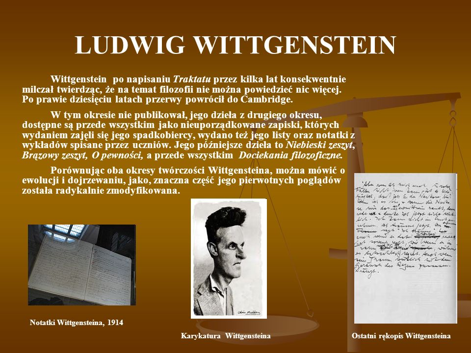 Notatki Wittgensteina, 1914