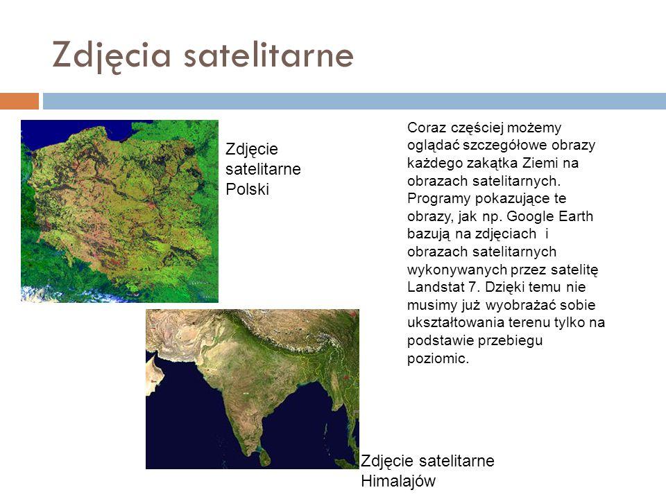 Zdjęcia satelitarne Zdjęcie satelitarne Polski