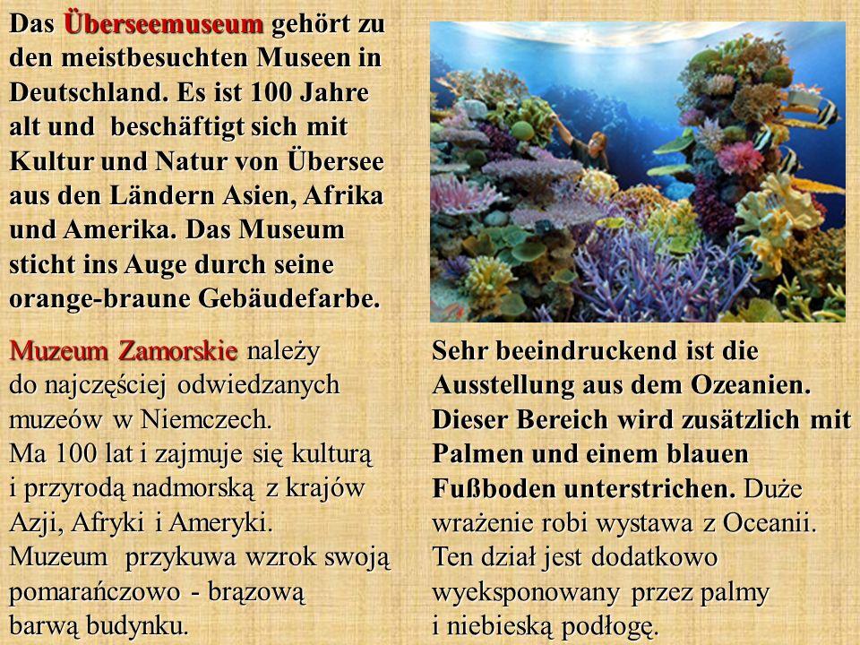 Das Überseemuseum gehört zu den meistbesuchten Museen in Deutschland