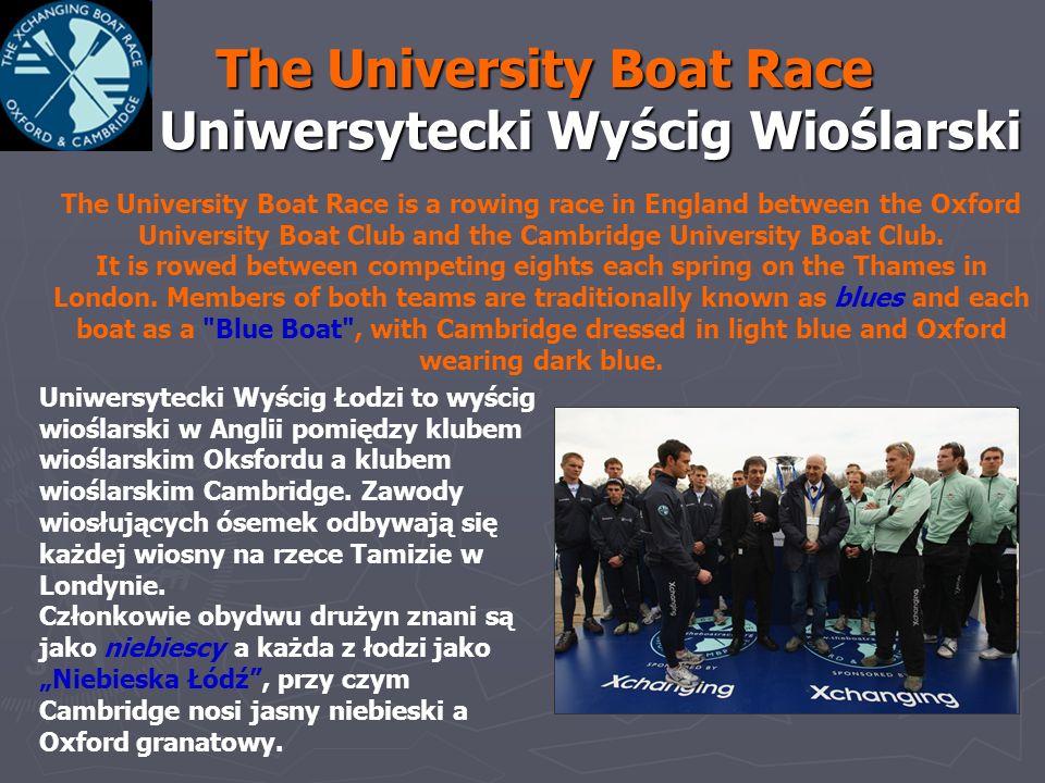 The University Boat Race Uniwersytecki Wyścig Wioślarski