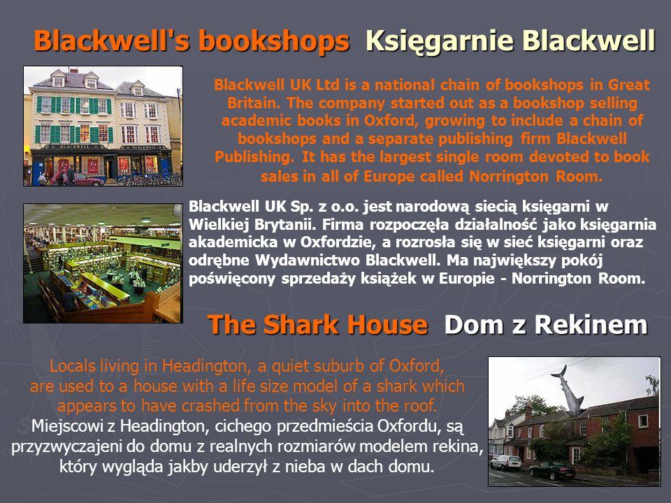 Blackwell s bookshops Księgarnie Blackwell