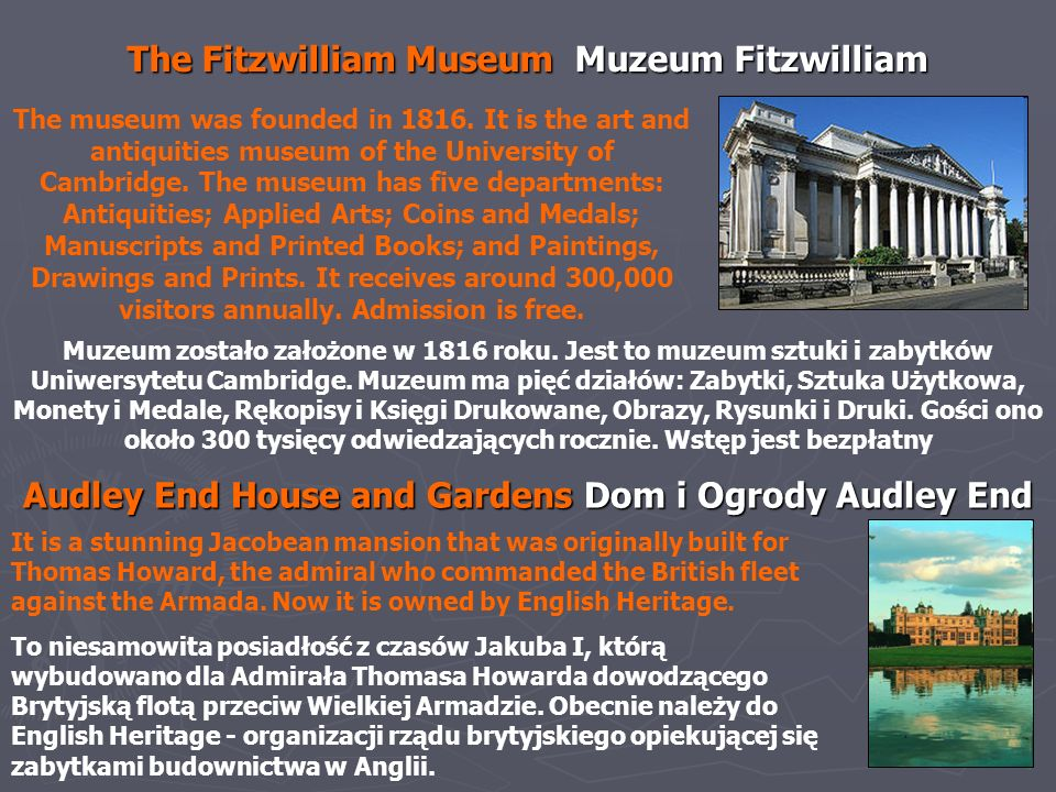 The Fitzwilliam Museum Muzeum Fitzwilliam