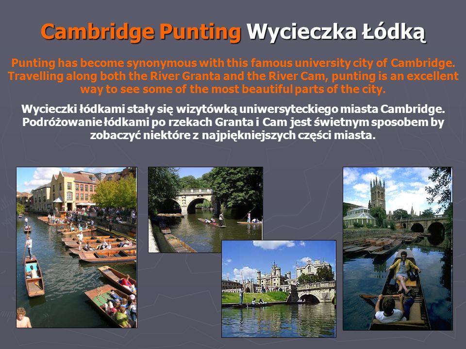 Cambridge Punting Wycieczka Łódką