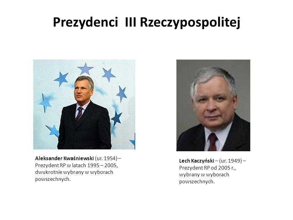 Prezydenci III Rzeczypospolitej