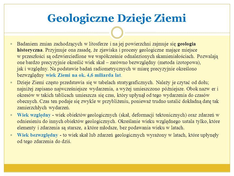 Geologiczne Dzieje Ziemi