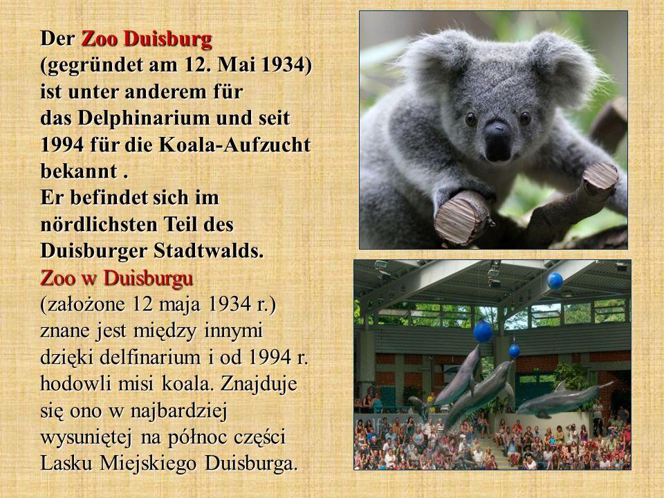 Der Zoo Duisburg (gegründet am 12
