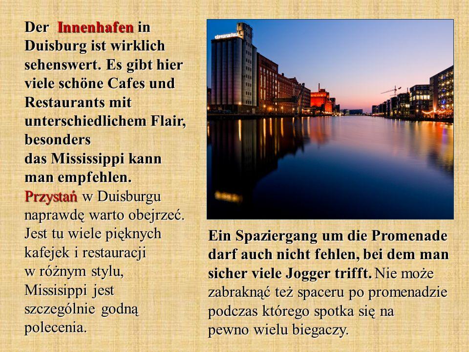 Der Innenhafen in Duisburg ist wirklich sehenswert