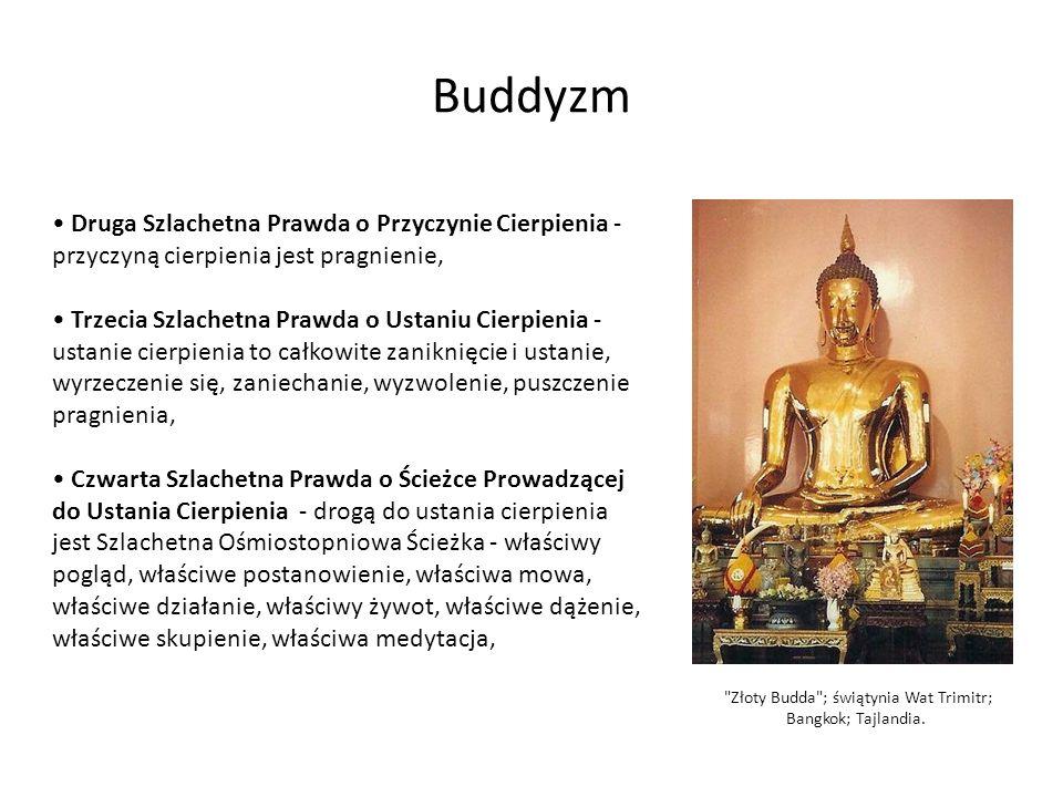 Złoty Budda ; świątynia Wat Trimitr; Bangkok; Tajlandia.