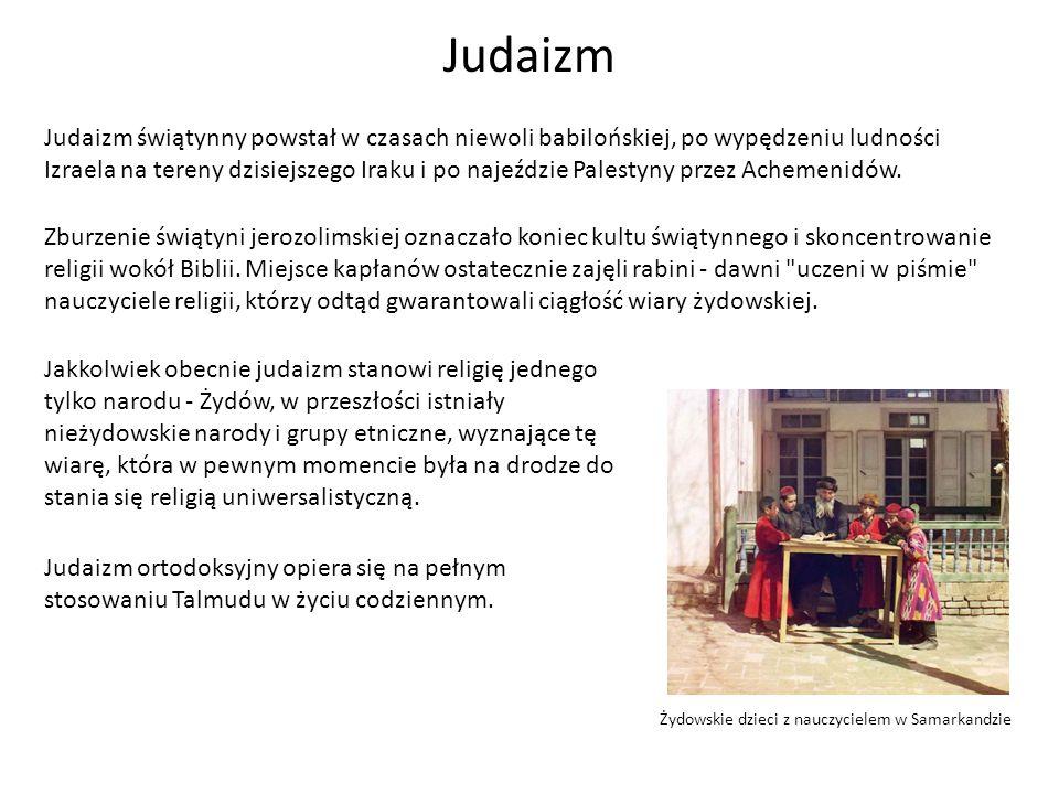Żydowskie dzieci z nauczycielem w Samarkandzie