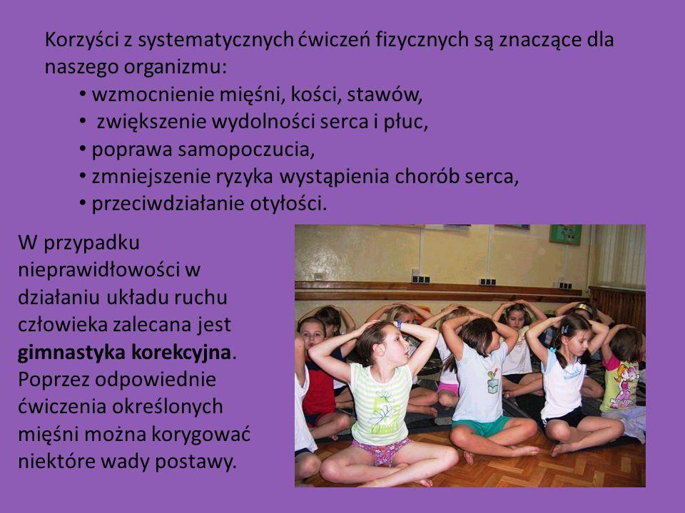Korzyści z systematycznych ćwiczeń fizycznych są znaczące dla naszego organizmu: