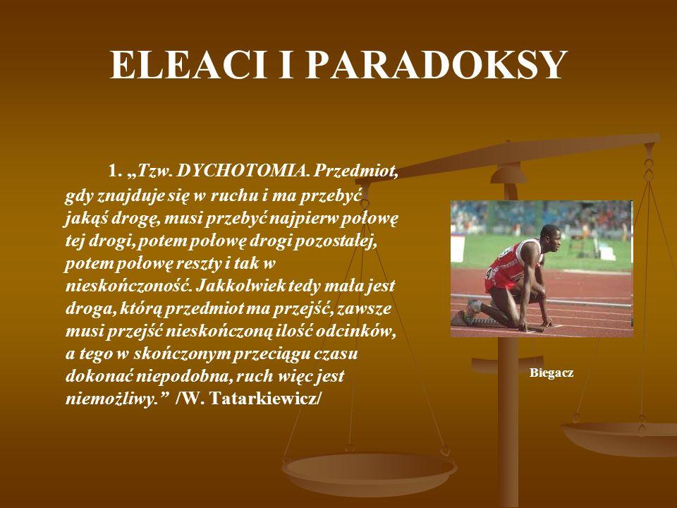 ELEACI I PARADOKSY