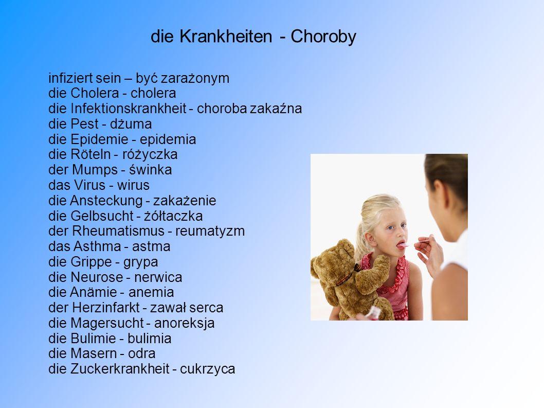 die Krankheiten - Choroby