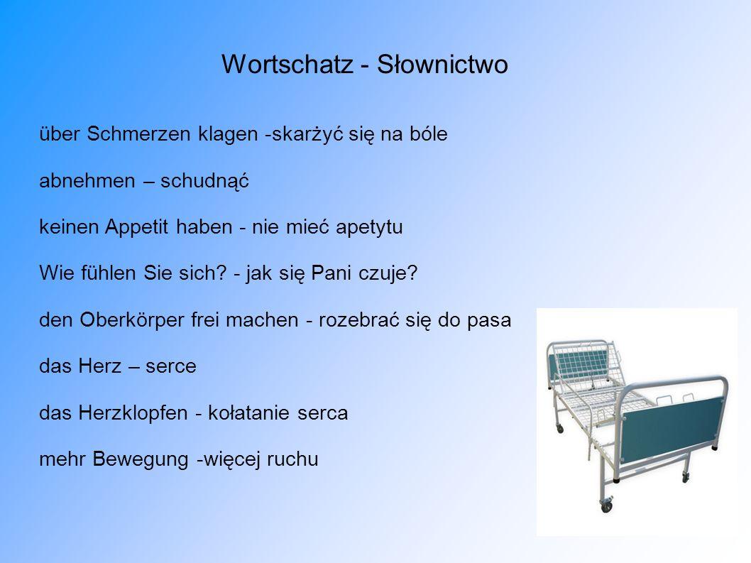 Wortschatz - Słownictwo