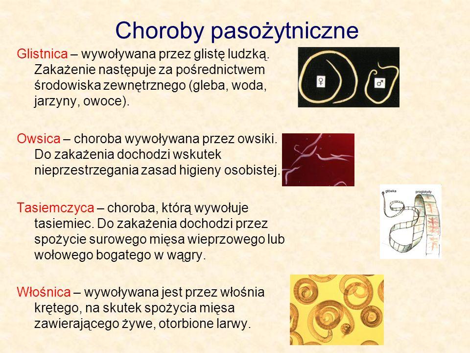 Choroby pasożytniczne