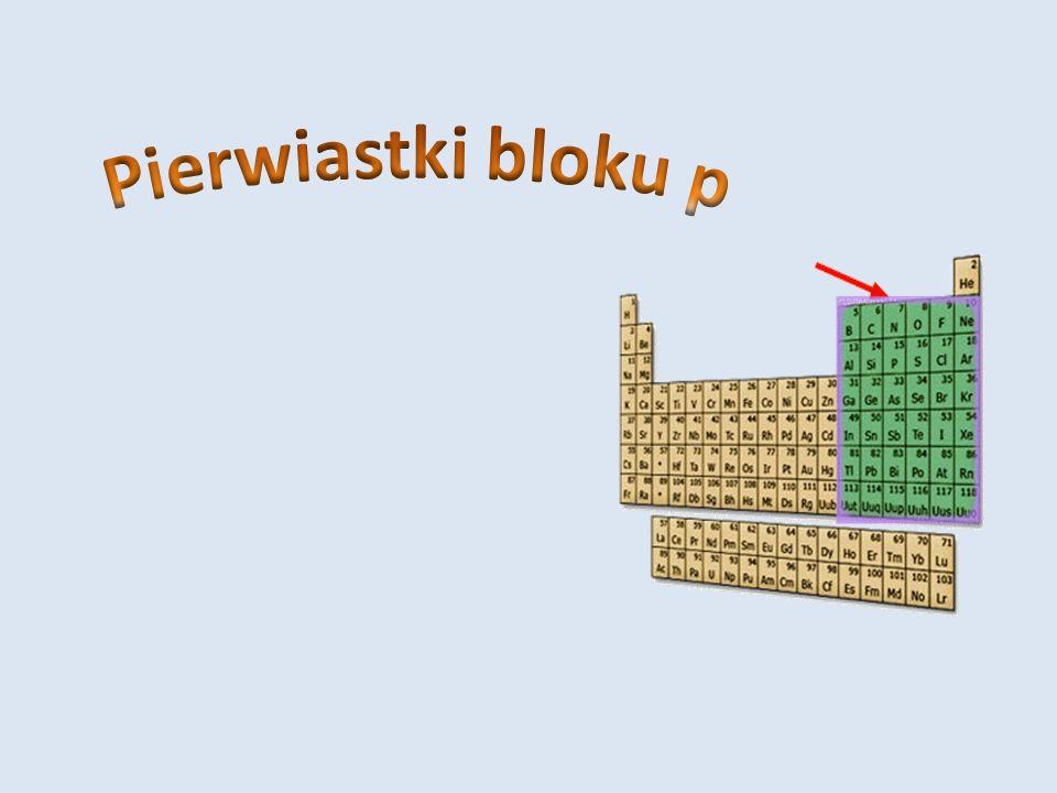Pierwiastki bloku p