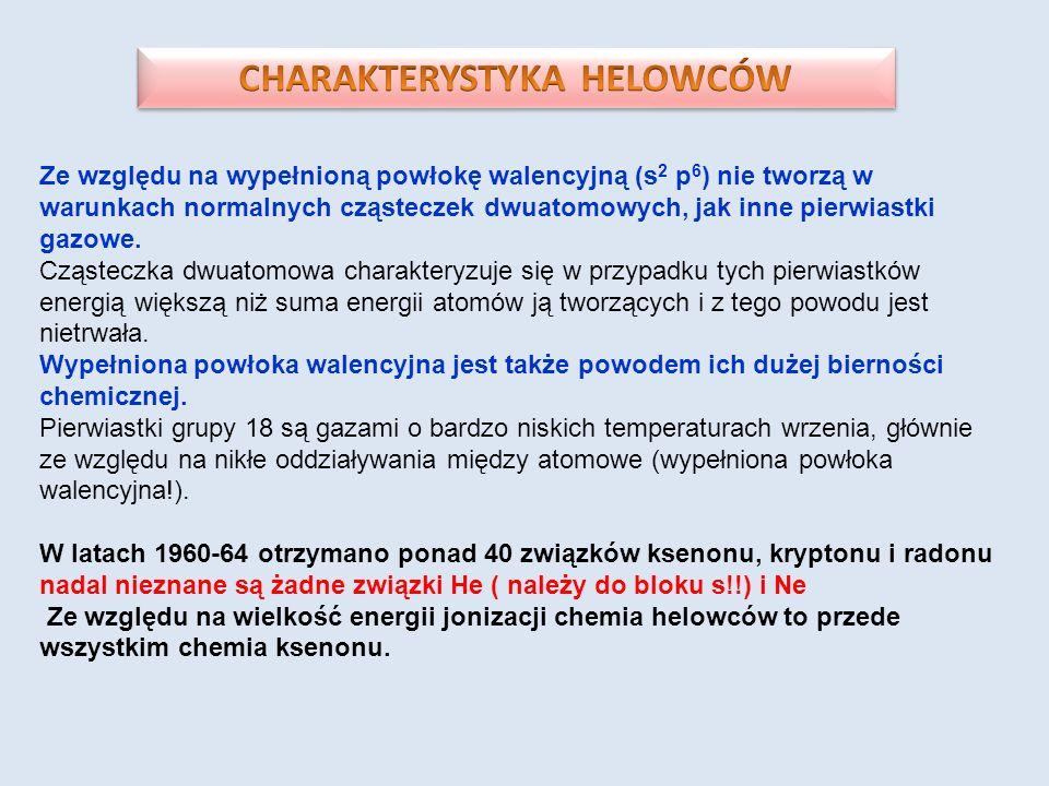 CHARAKTERYSTYKA HELOWCÓW