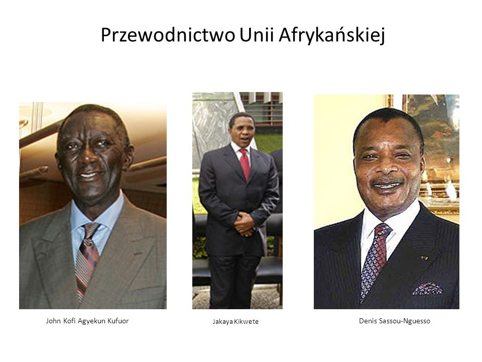 Przewodnictwo Unii Afrykańskiej