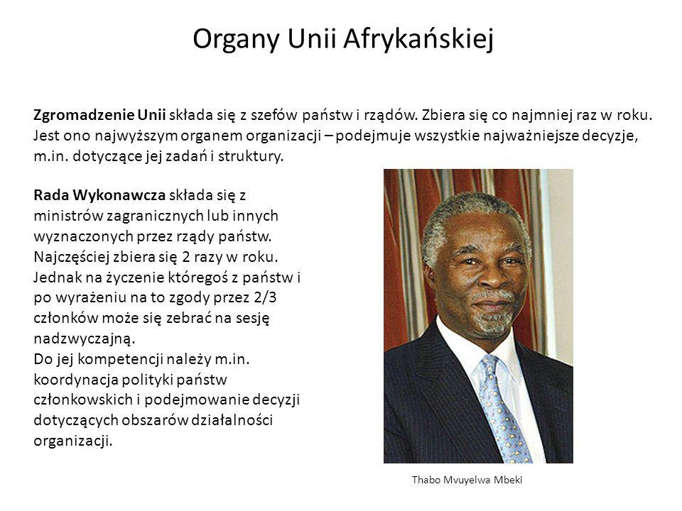 Organy Unii Afrykańskiej