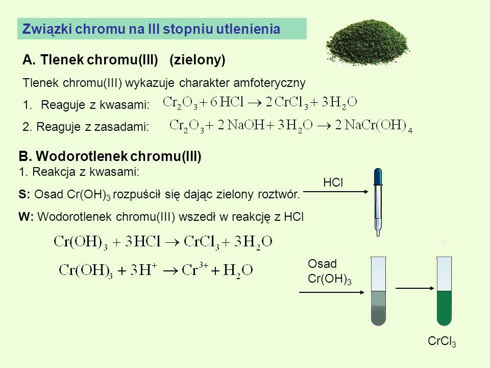 Związki chromu na III stopniu utlenienia