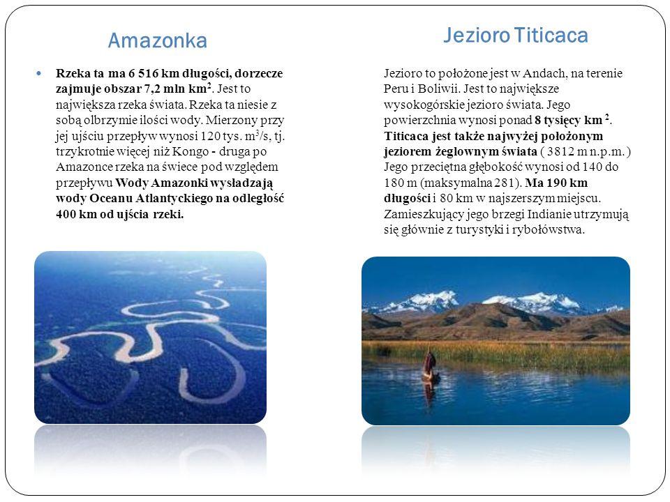 Amazonka Jezioro Titicaca