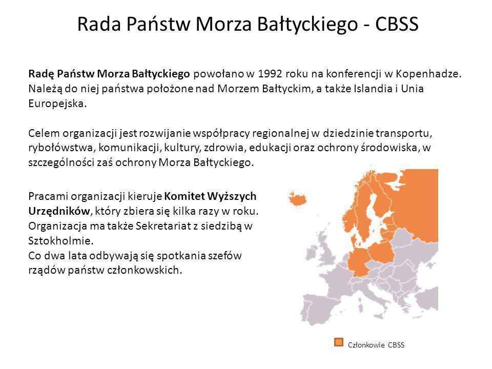 Rada Państw Morza Bałtyckiego - CBSS