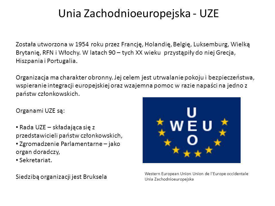 Unia Zachodnioeuropejska - UZE