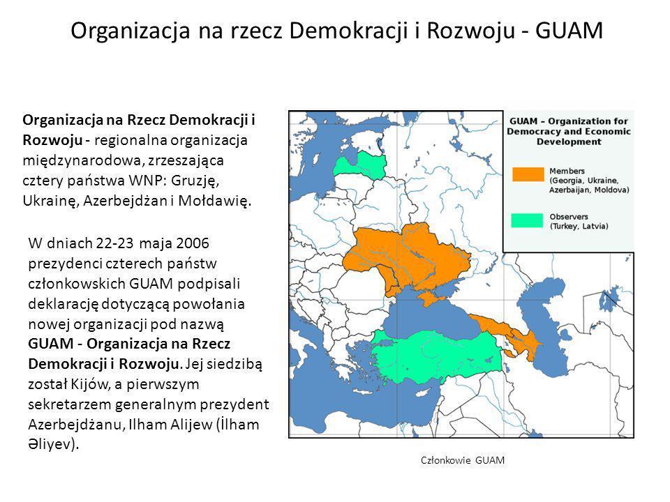 Organizacja na rzecz Demokracji i Rozwoju - GUAM