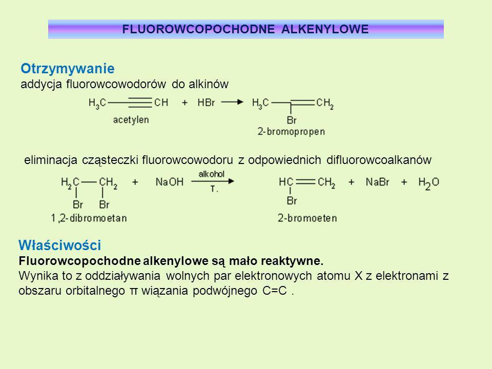 FLUOROWCOPOCHODNE ALKENYLOWE FLUOROWCOPOCHODNE ALKENYLOWE