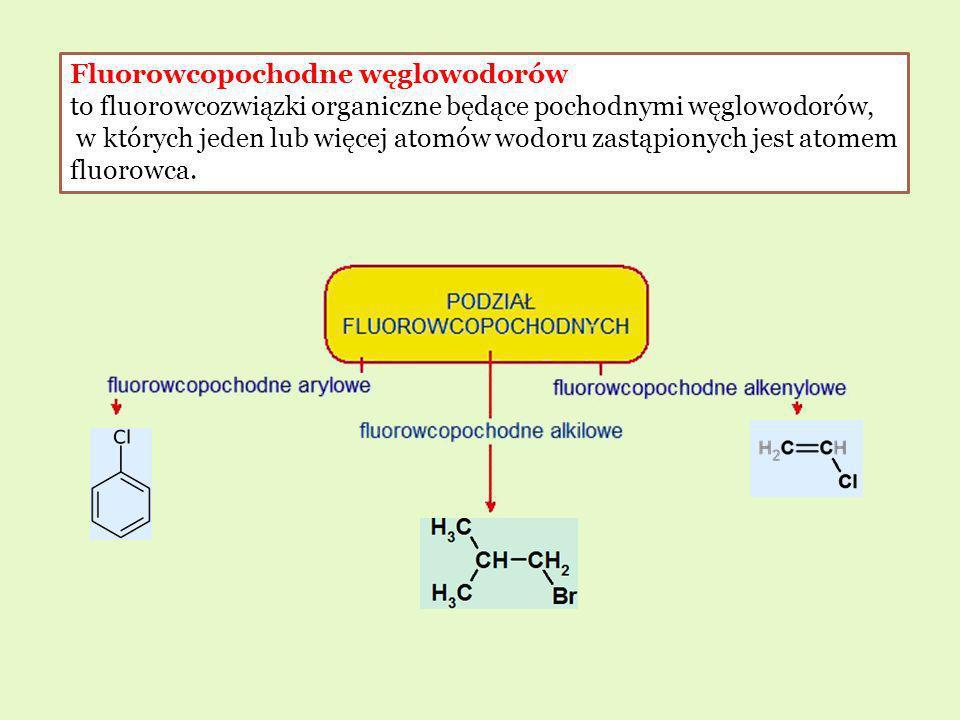 Fluorowcopochodne węglowodorów