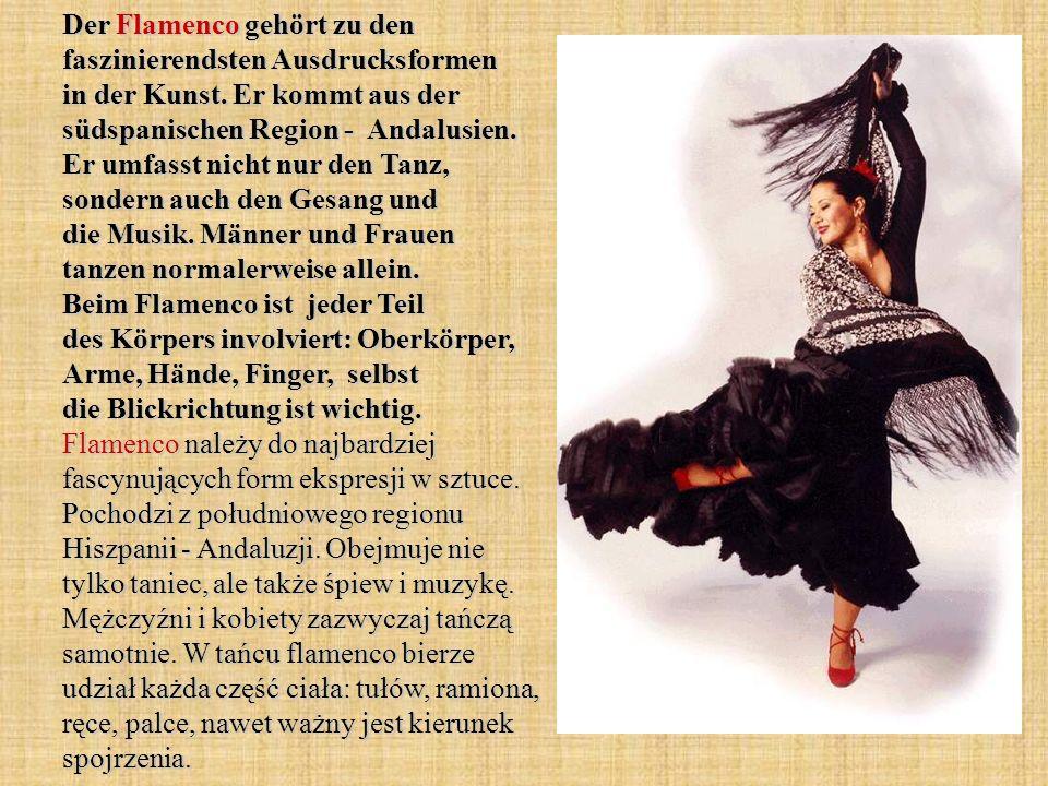 Der Flamenco gehört zu den faszinierendsten Ausdrucksformen in der Kunst.