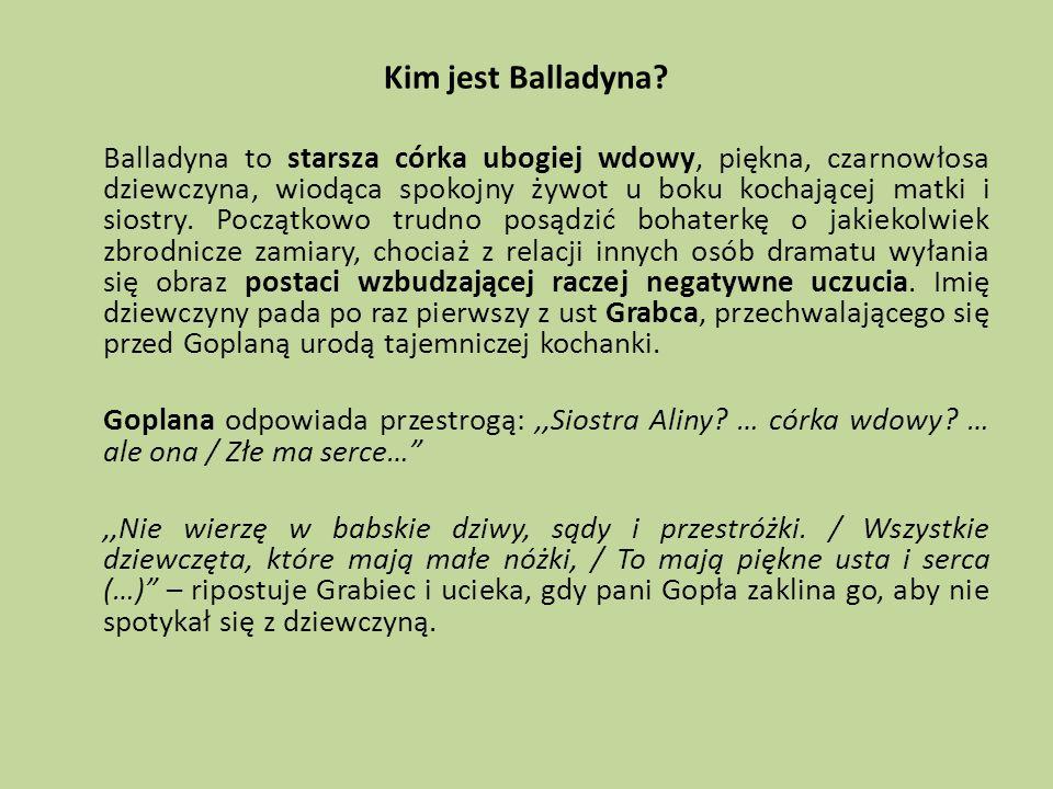 Kim jest Balladyna