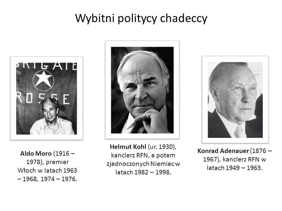 Wybitni politycy chadeccy