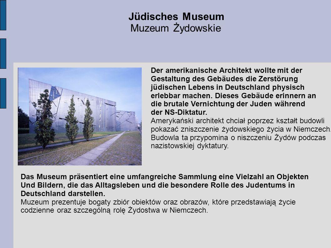 Jüdisches Museum Muzeum Żydowskie