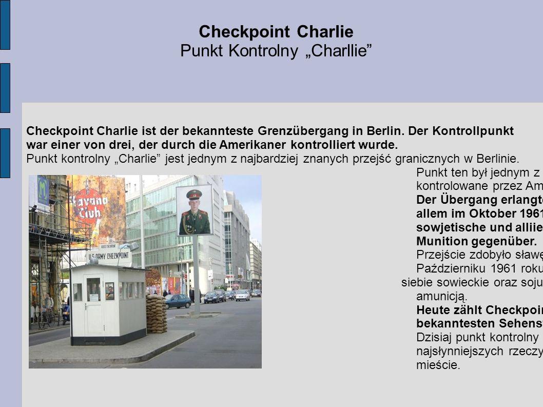 """Punkt Kontrolny """"Charllie"""