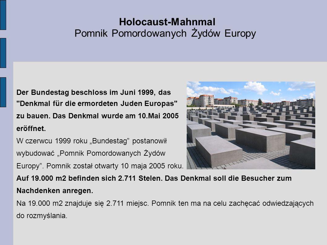 Pomnik Pomordowanych Żydów Europy