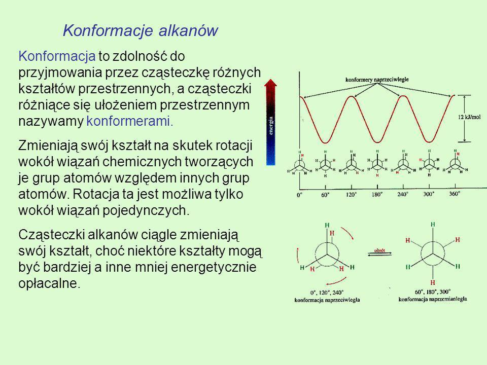 Konformacje alkanów