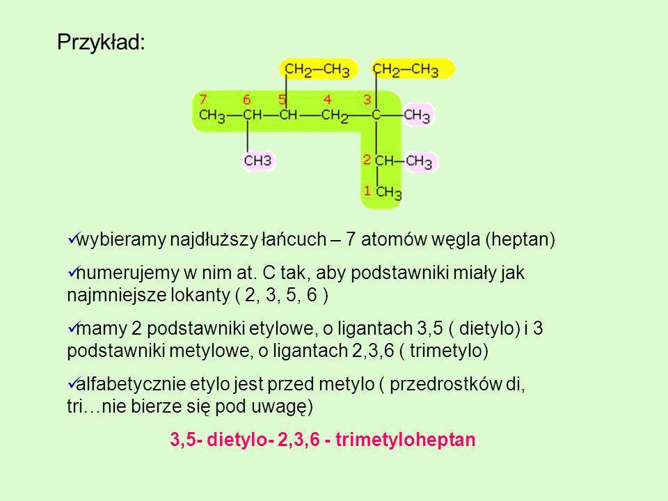 3,5- dietylo- 2,3,6 - trimetyloheptan